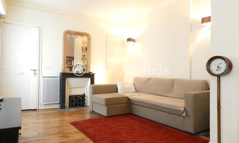 Rent Apartment 1 Bedroom 45m² rue Lucien Sampaix, 75010 Paris