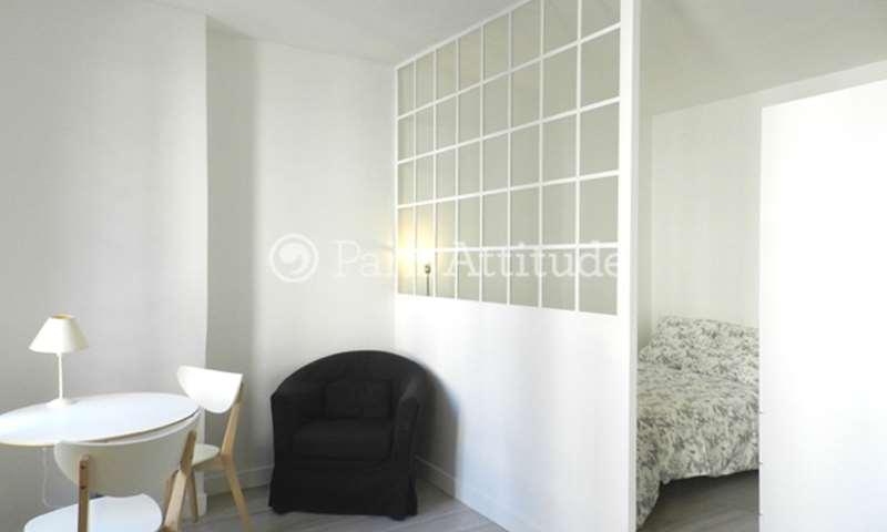 Rent Apartment Studio 22m² rue Nicolet, 75018 Paris