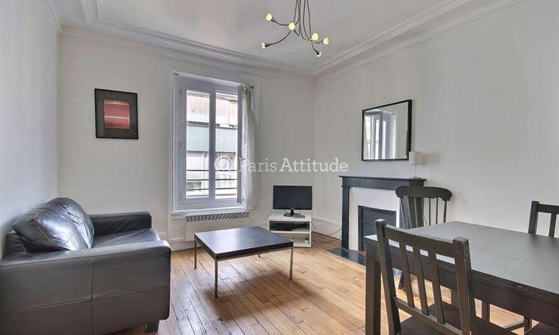 Rent Apartment 1 Bedroom 30m² Cite Ferembach, 17 Paris
