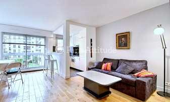 Rent Apartment 1 Bedroom 48m² rue Saint Charles, 15 Paris