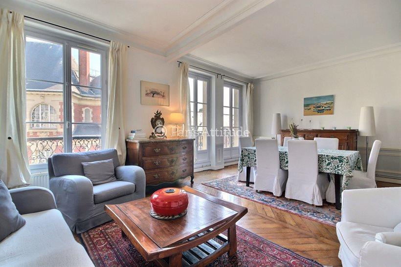 Rent furnished Apartment 2 Bedrooms 78m² rue Claude Bernard, 75005 Paris