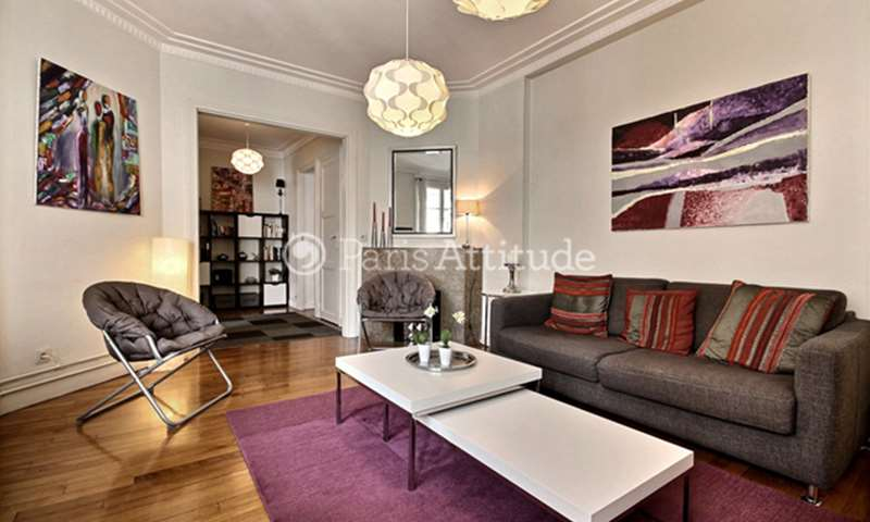 Rent Apartment 1 Bedroom 60m² rue de Bizerte, 17 Paris