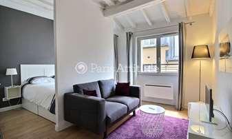 Location Appartement Alcove Studio 32m² rue Saint Sauveur, 2 Paris