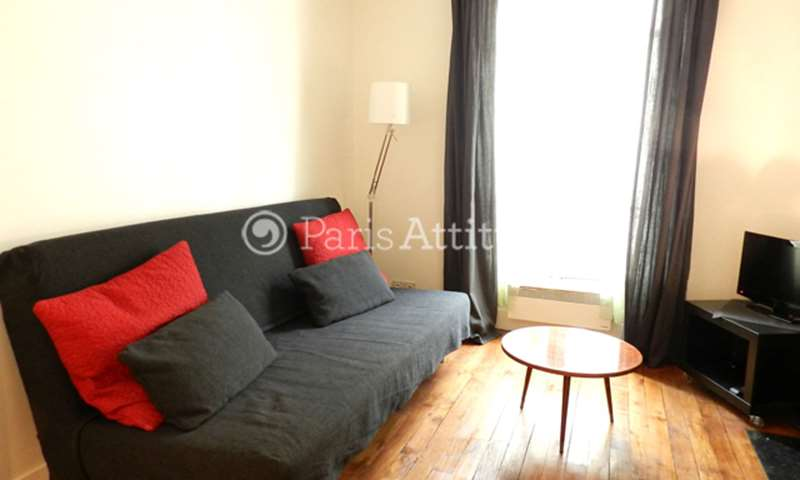 Rent Apartment Studio 23m² rue du Mont Cenis, 75018 Paris
