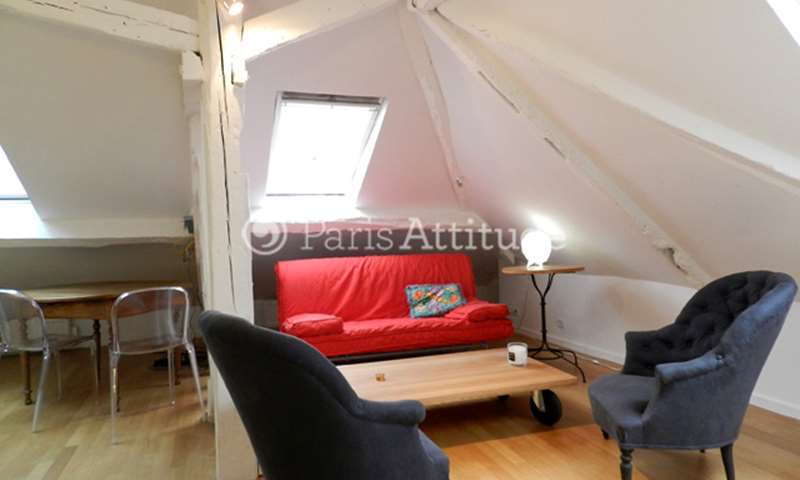 Rent Apartment 1 Bedroom 40m² rue Guisarde, 6 Paris