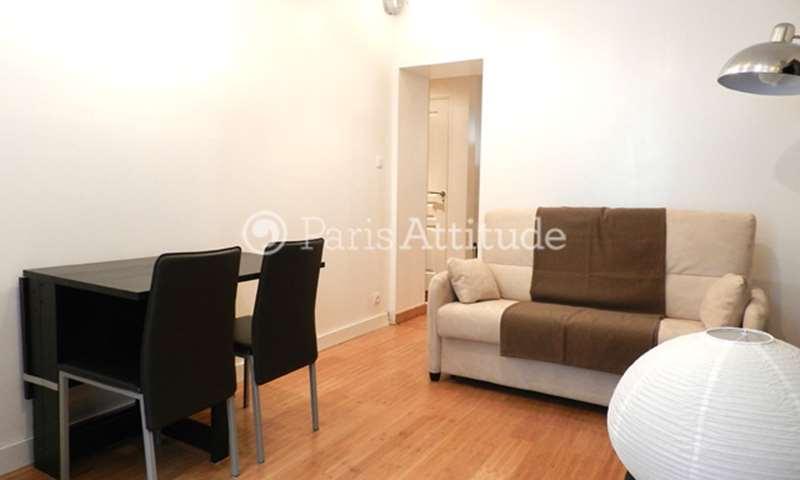 Location Appartement 1 Chambre 37m² rue Rennequin, 75017 Paris