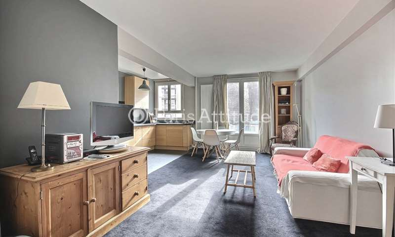 Rent Apartment 2 Bedrooms 80m² avenue Felix Faure, 75015 Paris