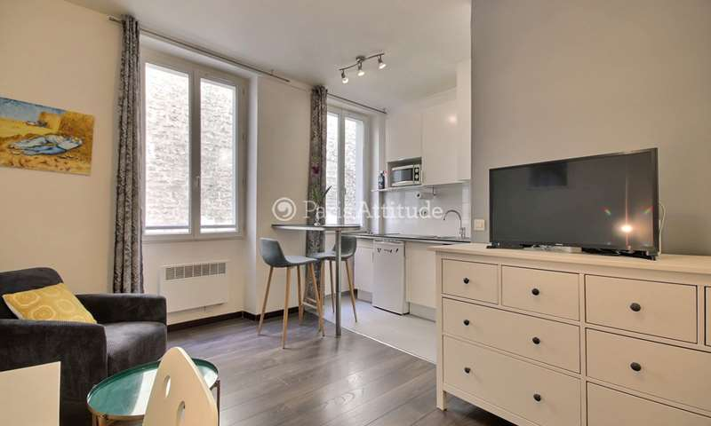 Rent Apartment Studio 23m² rue Notre Dame de Nazareth, 75003 Paris