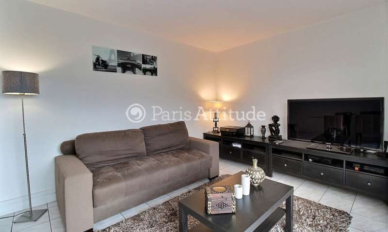 Rent Apartment 1 Bedroom 49m² avenue Jean Jaures, 75019 Paris