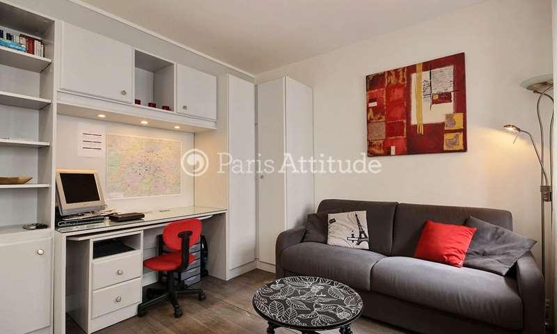 Rent Apartment Studio 15m² rue du General Bertrand, 75007 Paris