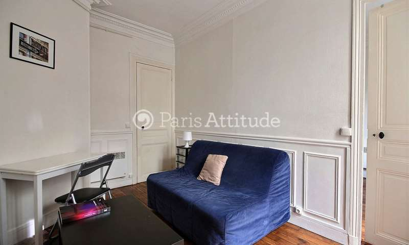Rent Apartment 1 Bedroom 30m² rue Eugene Jumin, 19 Paris