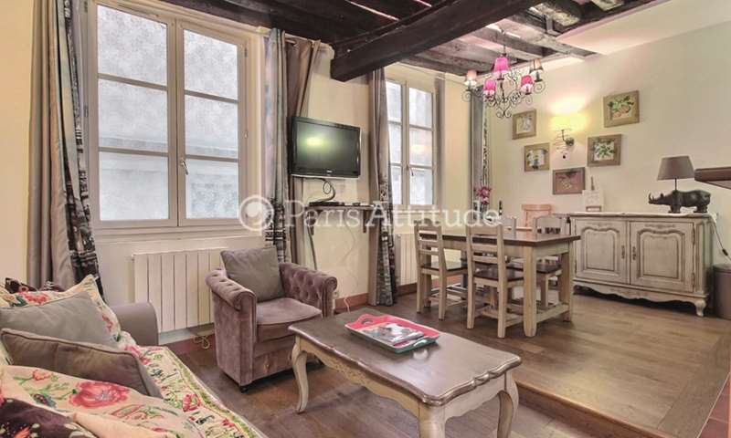 Rent Apartment 1 Bedroom 45m² rue de la Huchette, 75005 Paris