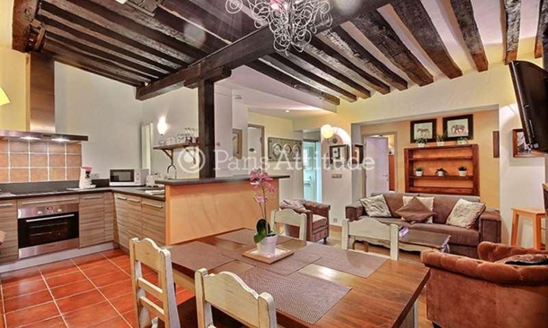 Rent Apartment 1 Bedroom 45m² rue de la Huchette, 5 Paris