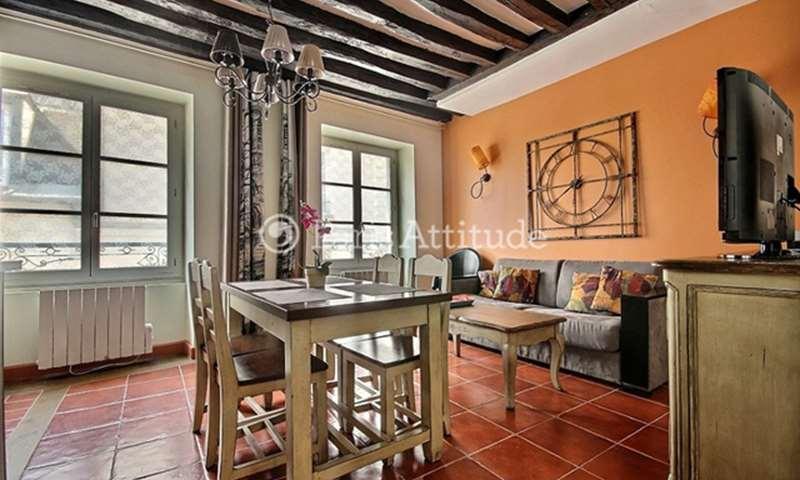 Rent Duplex 2 Bedrooms 65m² rue de la Huchette, 5 Paris