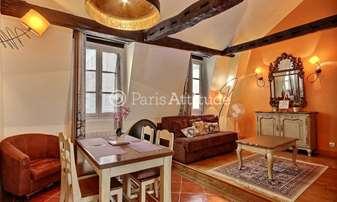 Rent Duplex 2 Bedrooms 55m² rue de la Huchette, 5 Paris