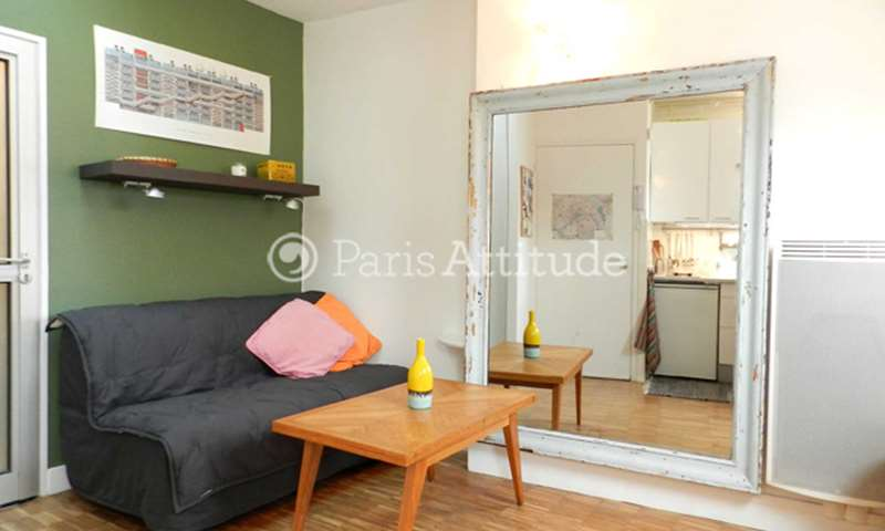 Rent Apartment Studio 17m² rue Saint Martin, 75003 Paris