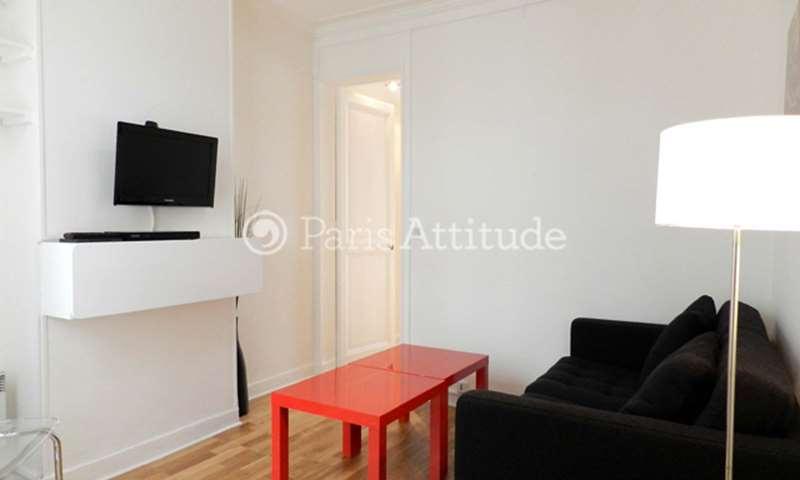 Rent Apartment 1 Bedroom 25m² rue Lucien Sampaix, 10 Paris