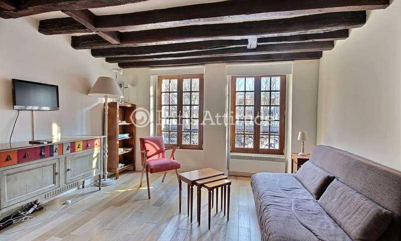 Rent Apartment Studio 23m² rue des Fosses Saint Bernard, 75005 Paris