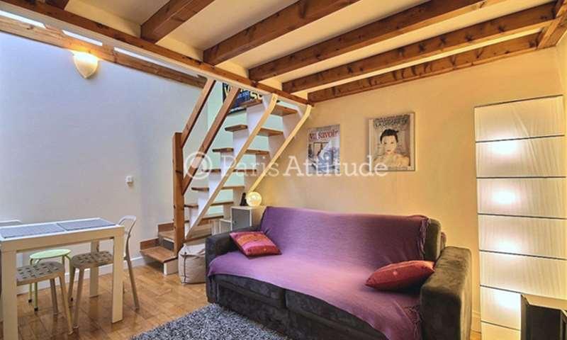 Rent Apartment Alcove Studio 22m² rue des Boulangers, 5 Paris