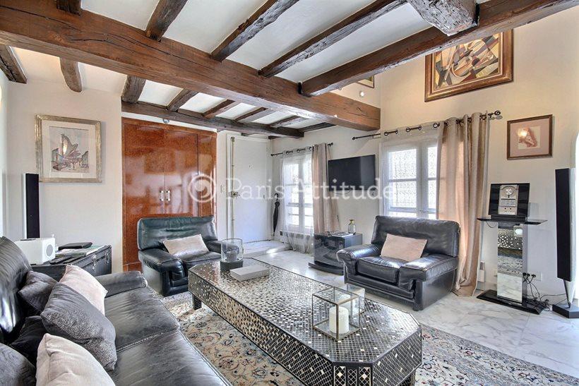 Rent furnished Apartment 2 Bedrooms 90m² rue Sauval, 75001 Paris
