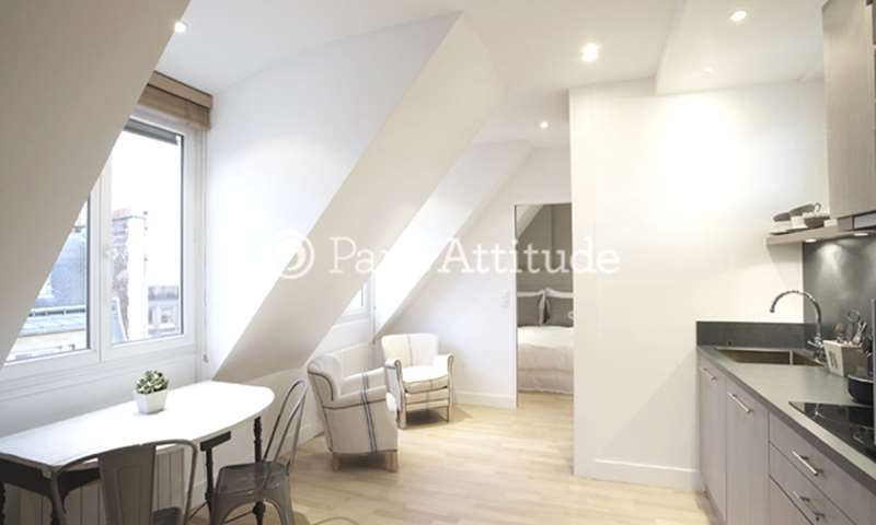 Rent Apartment 1 Bedroom 29m² avenue de Malakoff, 75016 Paris