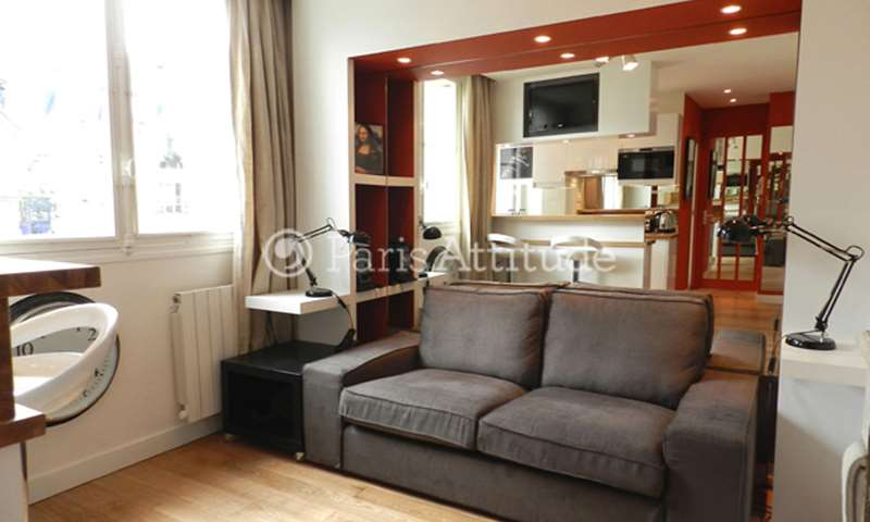 Rent Apartment 1 Bedroom 28m² rue Jouvenet, 16 Paris