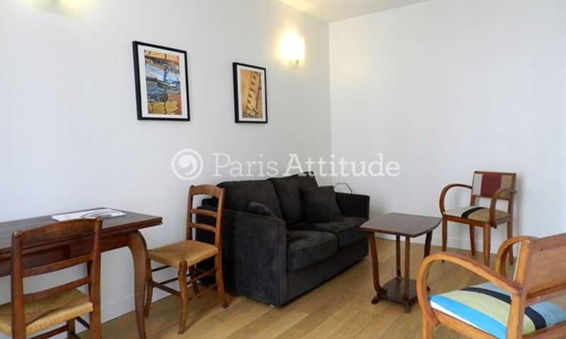 Rent Apartment 1 Bedroom 30m² rue de Saussure, 17 Paris