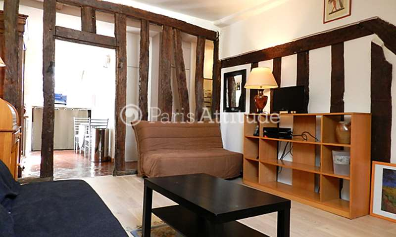 Rent Apartment Studio 31m² rue de Clery, 2 Paris