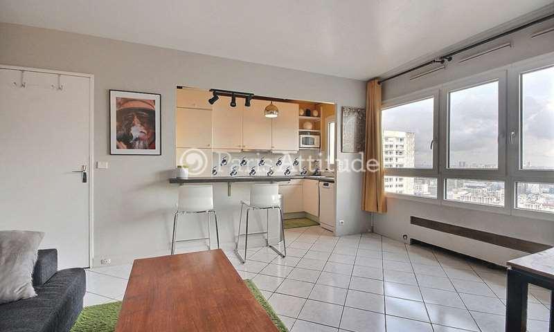 Aluguel Apartamento 1 quarto 48m² avenue d Ivry, 13 Paris