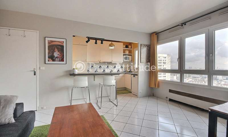 Rent Apartment 1 Bedroom 48m² avenue d Ivry, 75013 Paris