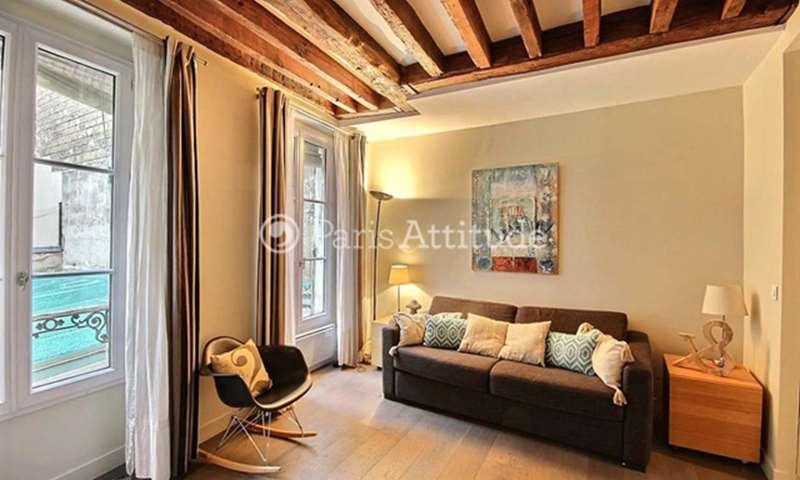 Rent Apartment 1 Bedroom 34m² rue des Bernardins, 5 Paris