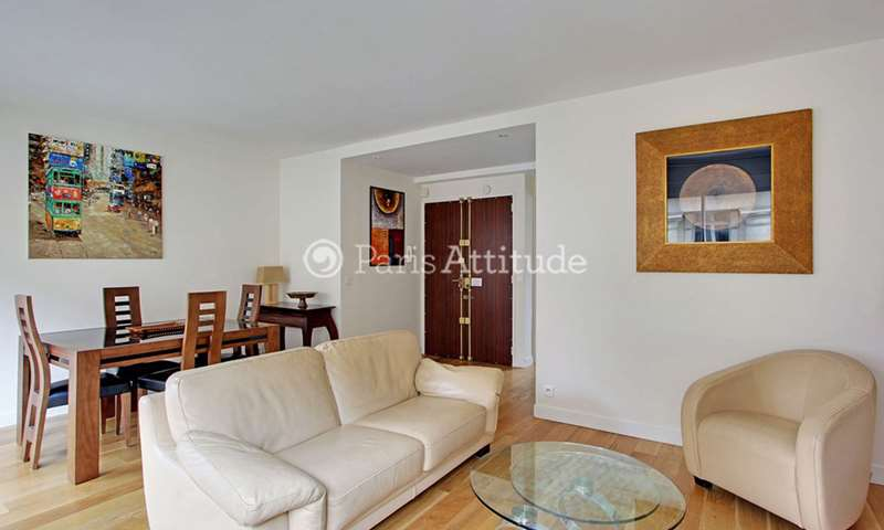 Rent Apartment 2 Bedrooms 70m² avenue Raymond Poincare, 16 Paris