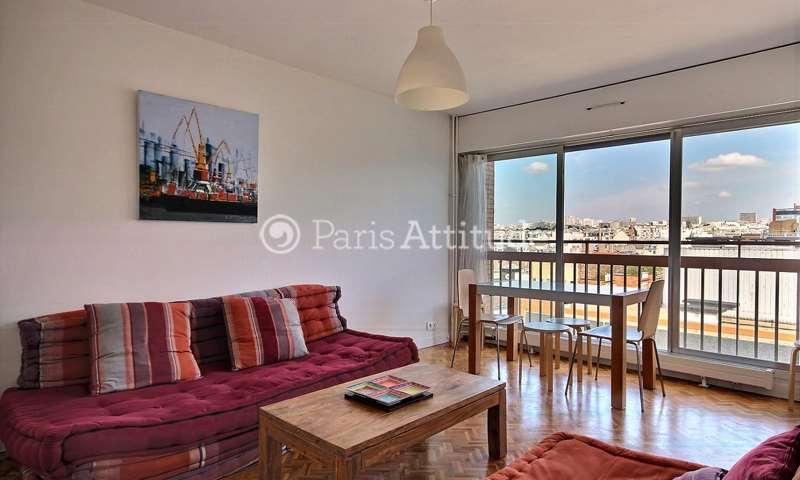 Rent Apartment 1 Bedroom 46m² rue Amelot, 11 Paris