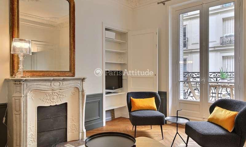 Rent Apartment 2 Bedroom 63m² rue Lauriston, 75016 Paris