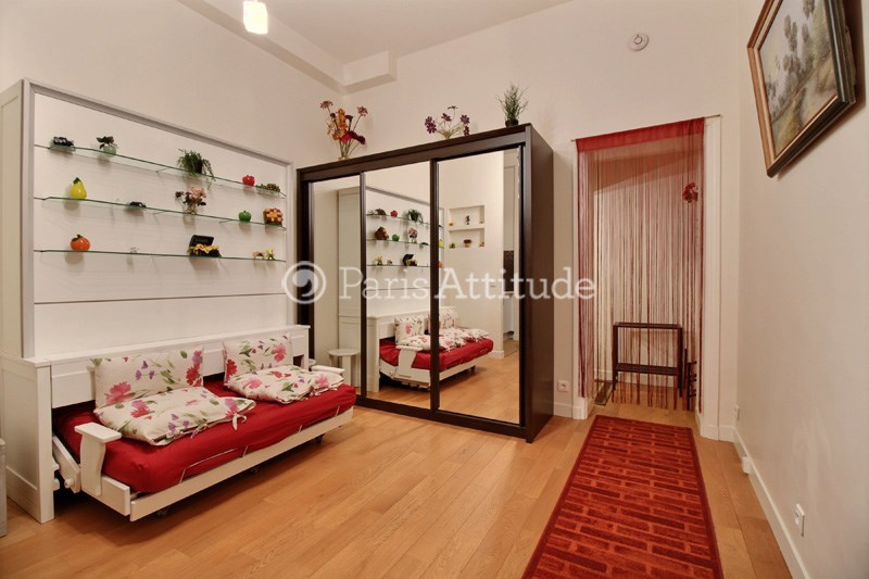 Rent Apartment Studio 24m² rue de la Faisanderie, 75016 Paris