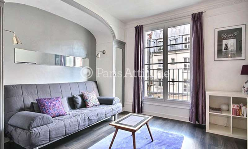 Rent Apartment Studio 22m² rue Troyon, 75017 Paris
