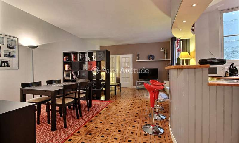 Rent Apartment 1 Bedroom 50m² rue Lauriston, 75016 Paris