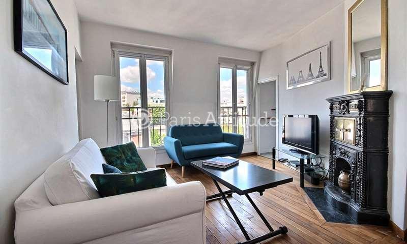 Rent Apartment 1 Bedroom 38m² rue de la Croix Nivert, 15 Paris