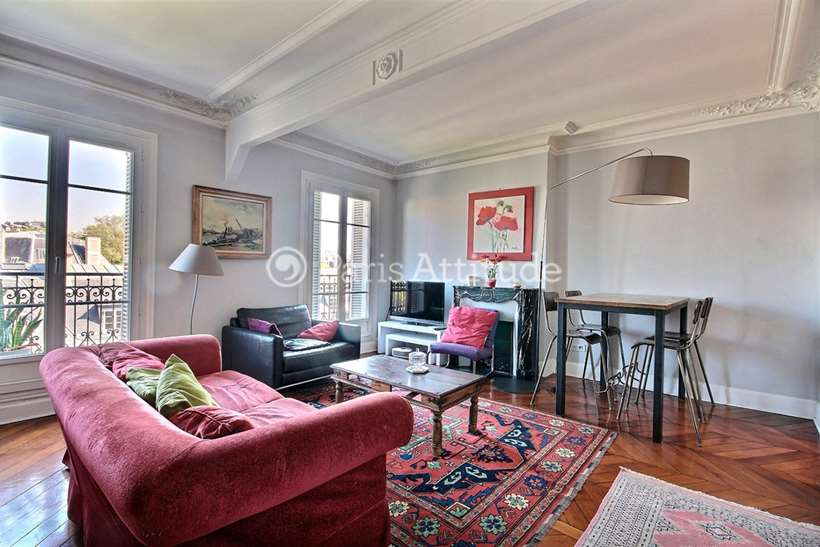 Rent furnished Apartment 1 Bedroom 55m² Place Gambetta, 75020 Paris