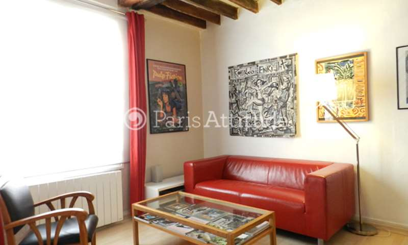 Rent Apartment 1 Bedroom 27m² cour Saint Pierre, 17 Paris