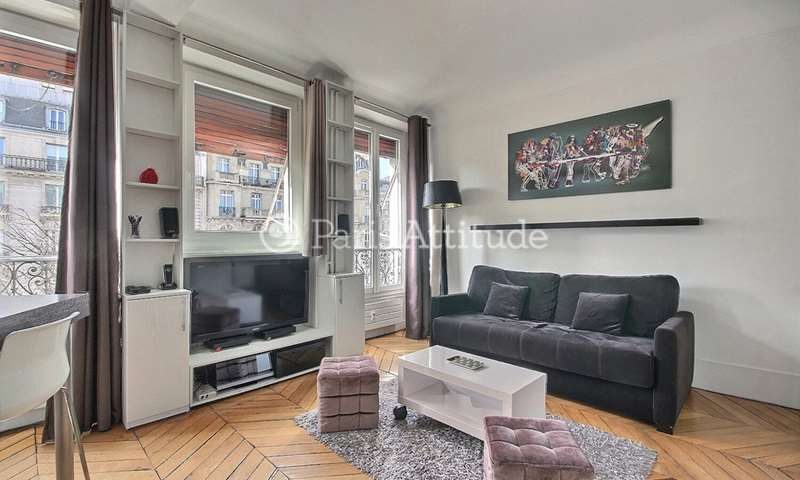 Rent Apartment Studio 27m² avenue Mac Mahon, 17 Paris