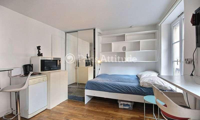 Rent Apartment Studio 20m² rue Tholoze, 18 Paris