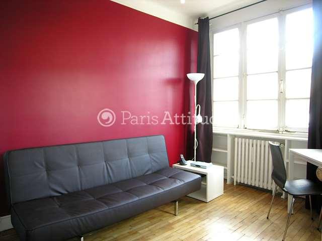 Rent Apartment in Paris 75010 - 18m² Canal Saint Martin - ref 8779