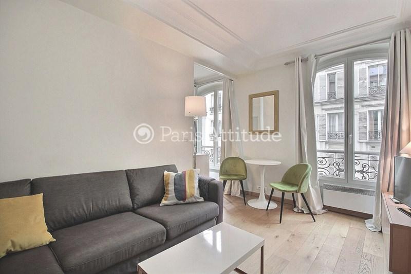 Rent Apartment 1 Bedroom 33m² rue Keller, 75011 Paris