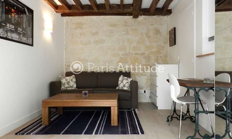 Rent Apartment Studio 20m² rue Bridaine, 17 Paris