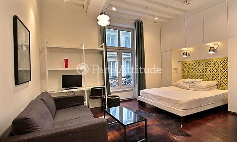 Rent Apartment Studio 23m² rue des ecouffes, 75004 Paris