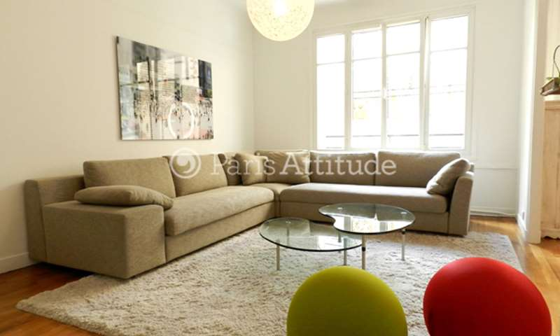 Rent Apartment 2 Bedrooms 96m² rue de la Faisanderie, 16 Paris