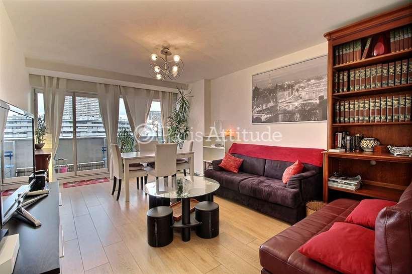 Louer Appartement meublé 2 Chambres 74m² avenue d Italie, 75013 Paris