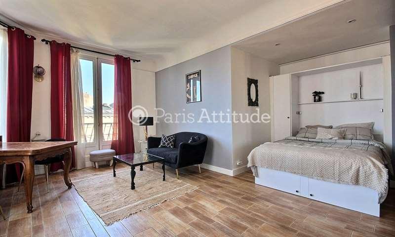 Rent Apartment Studio 39m² rue Boissiere, 16 Paris