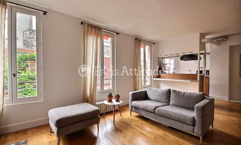 Rent Apartment Alcove Studio 44m² rue de Charonne, 11 Paris